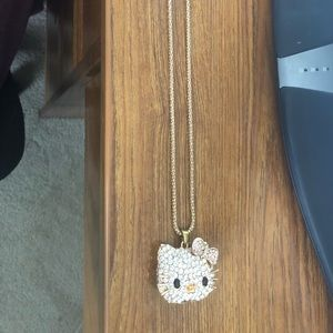 Hello kitty charm scent necklace
